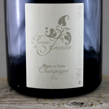 Cédric Bouchard Roses de Jeanne Les Ursules Blanc de Noirs Champagne  2009