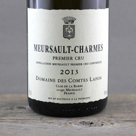Domaine des Comtes Lafon Meursault-Charmes 1er Cru Chardonnay 2013