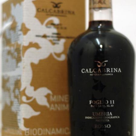 Calcabrina Foglio 11 Umbria Rosso 2010