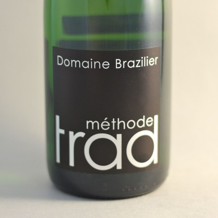 Domaine Brazilier Brut Methode Traditionnelle Coteaux du Vendômois NV