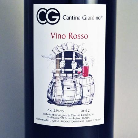Cantina Giardino Vino Rosso Aglianico NV (1500ml)