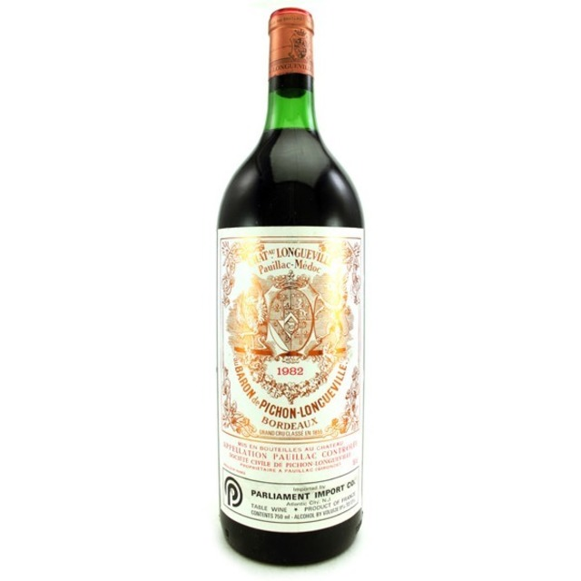Baron de Pichon-Longueville Pauillac Red Bordeaux Blend 1982 (1500ml)