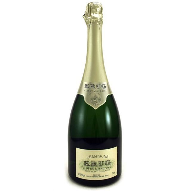Clos du Mesnil Brut Blanc de Blancs Champagne Chardonnay 2002