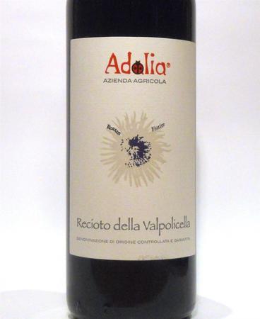 """Azienda Agricola Adalia Recioto della Valpolicella """"Roasan"""" Corvina Blend 2012 (500ml)"""