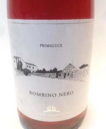 Cantine Carpentiere Bombino Nero Primaluce Rosé Blend 2014