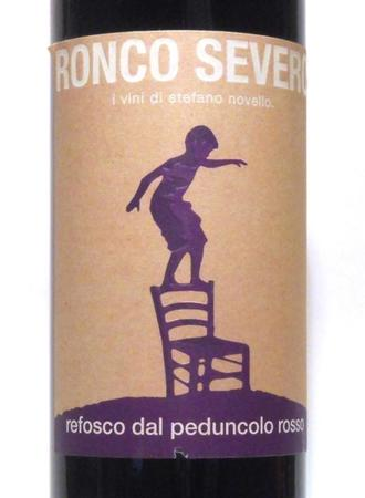 Ronco Severo Refosco Dal Peduncolo Rosso  2012