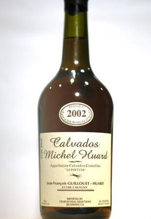 Michel Huard / Jean-Francois Guillouet Hors d'Age 90-92-99 Le Pertyer Calvados 2002