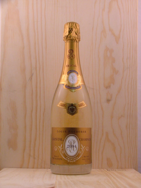 Cristal Brut Champagne Chardonnay Pinot Noir Blend 2007