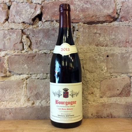 Domaine Ghislaine Barthod Les Bons Bâtons Bourgogne Pinot Noir 2013