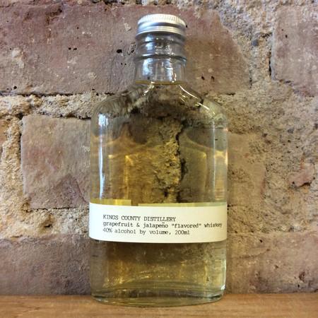 Kings County Distillery  Grapefruit & Jalapeño Flavored Whiskey NV (200ml)