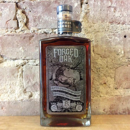Orphan Barrel Whiskey Distilling Co. Forged Oak 15 Year Old Kentucky Straight Bourbon Whiskey NV