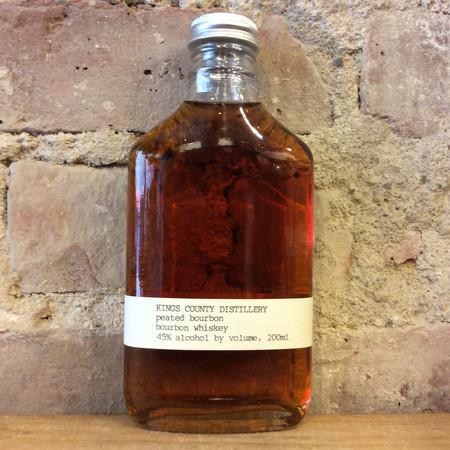 Kings County Distillery  Peated Bourbon Whiskey NV (200ml)