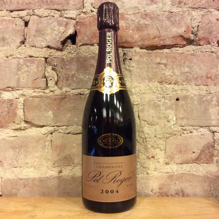 Pol Roger Brut Rosé Champagne Blend 2004
