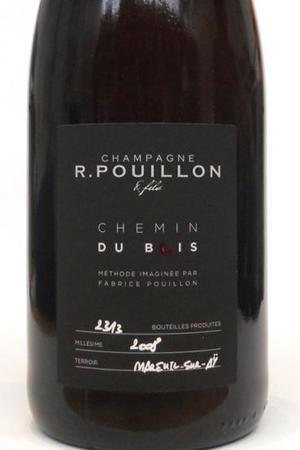 R. Pouillon & Fils Chemin du Bois Methode X 1er Cru Brut Champagne Pinot Noir  2008