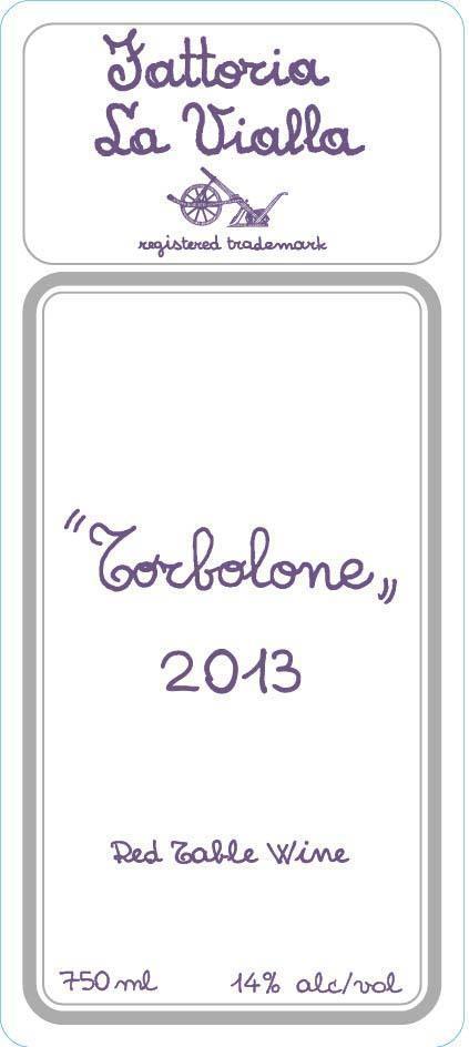 La Vialla Torbolone Toscana Sangiovese Blend 2013
