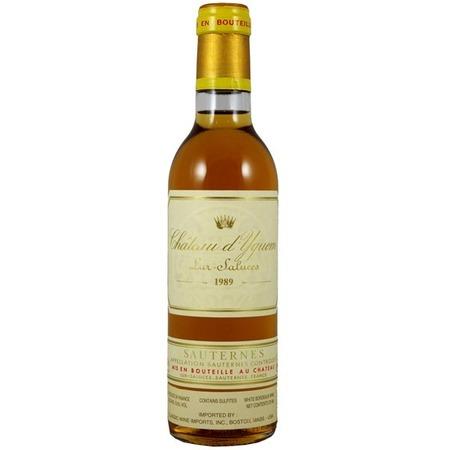 Château d'Yquem Sauternes Sémillon-Sauvignon Blanc Blend 1989 (375ml)