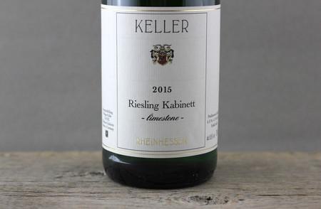 Weingut Keller Limestone Kabinett Riesling 2015