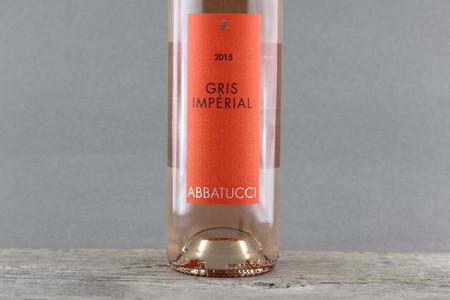 Domaine Comte Abbatucci Gris Imperial Rosé Sciacarello Barbarossa 2015