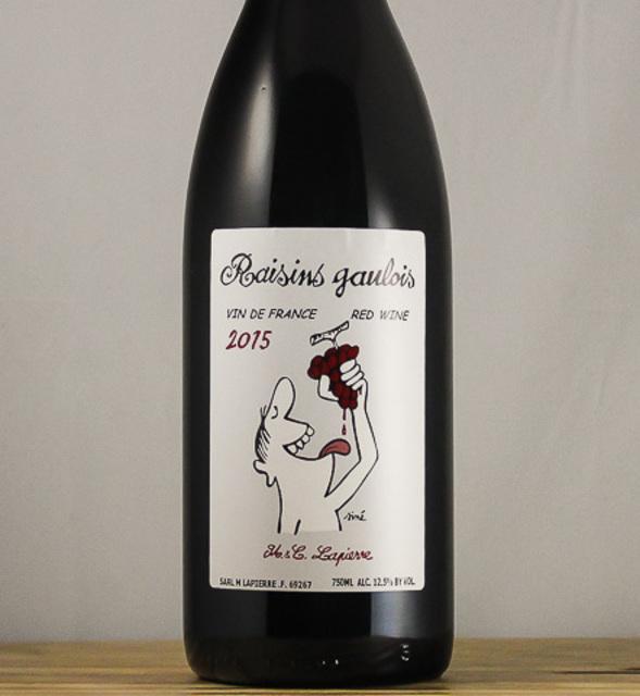 Raisins Gaulois Gamay 2015
