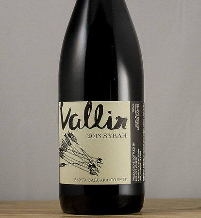 Vallin Wines Syrah 2013