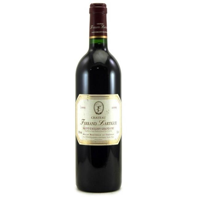 Saint-Émilion Red Bordeaux Blend 1998