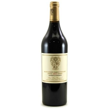 Kapcsándy Family Winery Roberta's Reserve State Lane Vineyard Merlot Cabernet Franc 2013