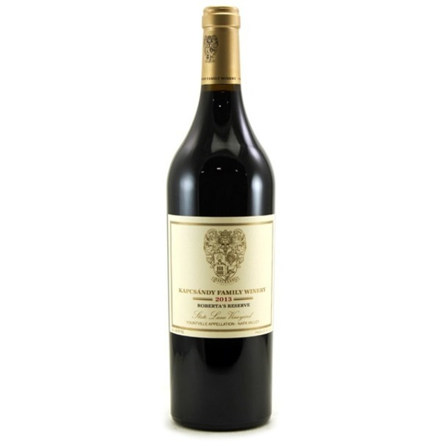 Roberta's Reserve State Lane Vineyard Merlot Cabernet Franc 2013