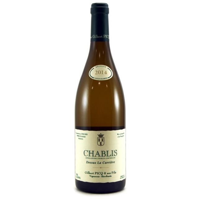 Dessus La Carrière Chablis Chardonnay 2014