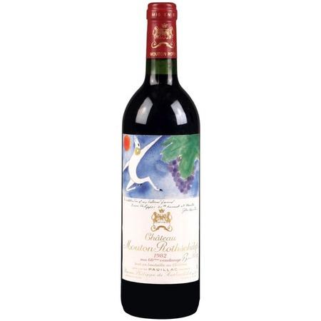 Baron Philippe de Rothschild Château Mouton Rothschild Pauillac Red Bordeaux Blend 1982