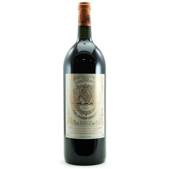 Baron de Pichon-Longueville Pauillac Red Bordeaux Blend 2003 (1500ml)