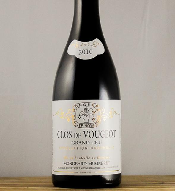 Clos de Vougeot Grand Cru Pinot Noir 2010