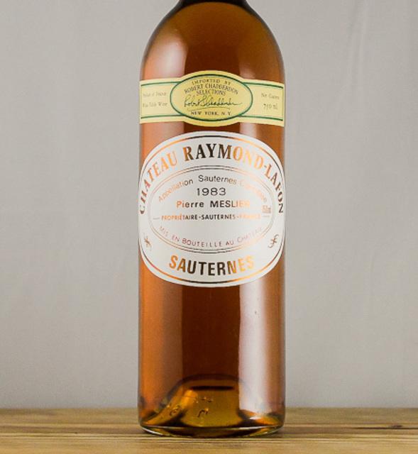 Sauternes Sémillon-Sauvignon Blanc Blend 1980