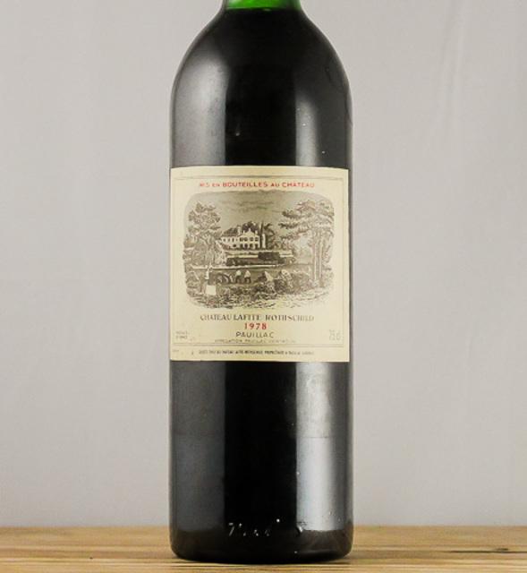 Pauillac Red Bordeaux Blend 1978