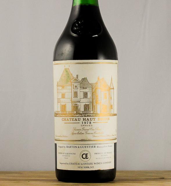Pessac-Léognan Red Bordeaux Blend 1978
