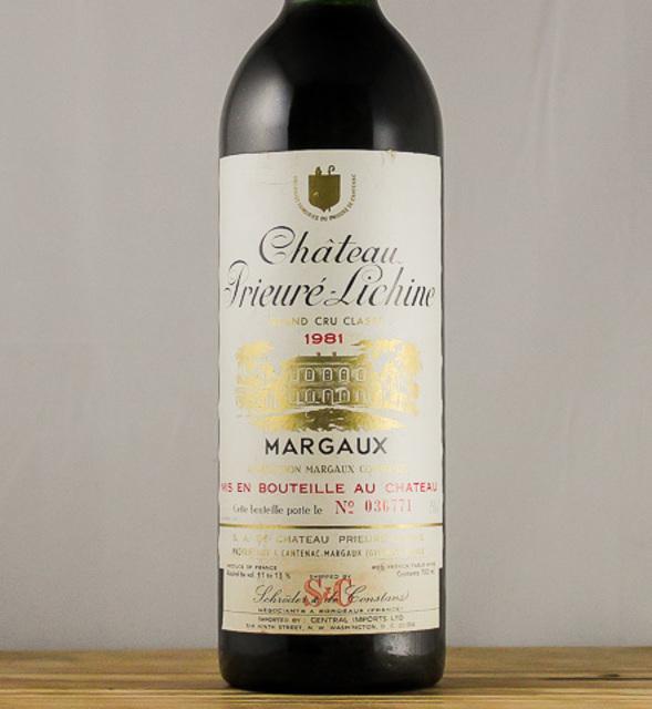 Margaux Red Bordeaux Blend 1981