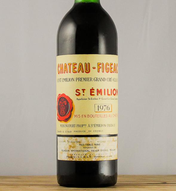St. Émilion  Red Bordeaux Blend 1976