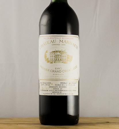 Château Margaux Margaux Premier Grand Cru Classé Red Bordeaux Blend 1985