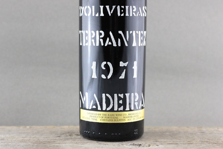 D'Oliveiras Madeira Terrantez  1971