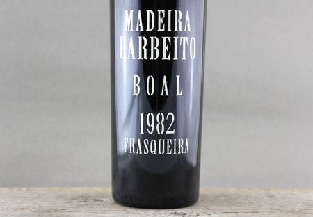Vinhos Barbeito Madeira Boal 1982