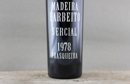 Vinhos Barbeito Madeira Sercial 1978