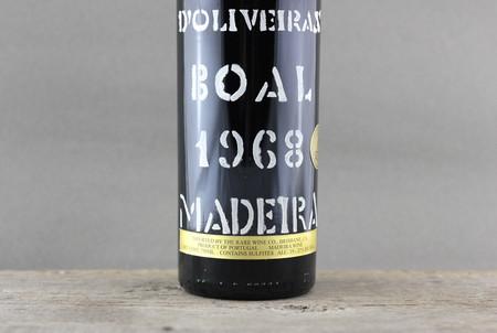D'Oliveiras Madeira Boal 1968