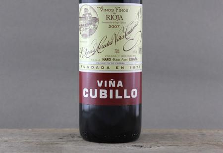 R. López de Heredia Viña Cubillo Crianza Rioja Tempranillo Blend   2007