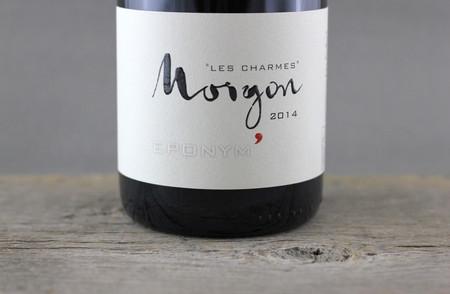 Jean Foillard Eponym' Les Charmes Morgon Gamay 2014