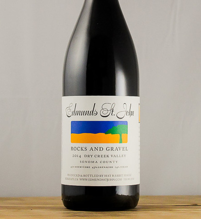 Edmunds St. John Rocks and Gravel Dry Creek Valley Grenache Blend 2014