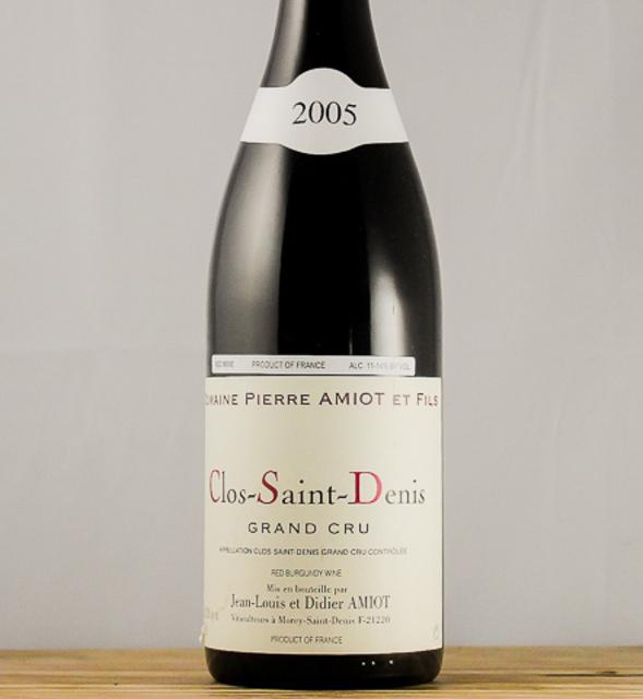 Clos Saint-Denis Grand Cru Pinot Noir 2005