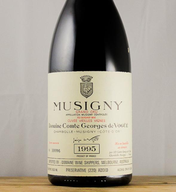 Cuvée Vieilles Vignes Musigny Grand Cru Pinot Noir 1995 (1500ml)