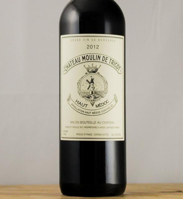 Haut-Médoc Red Bordeaux Blend 2012