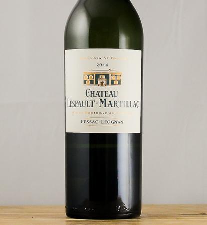 Chateau Lespault Martillac Pessac-Léognan White Bordeaux Blend 2014
