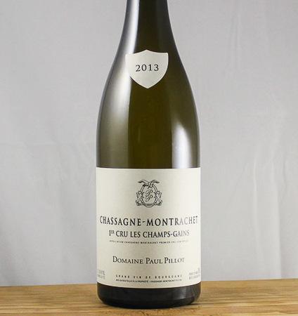 Domaine Paul Pillot Les Champs-Gains Chassagne-Montrachet 1er Cru Chardonnay 2015