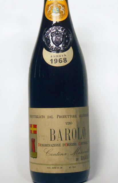Cantina Bartolo Mascarello Barolo Nebbiolo 1968